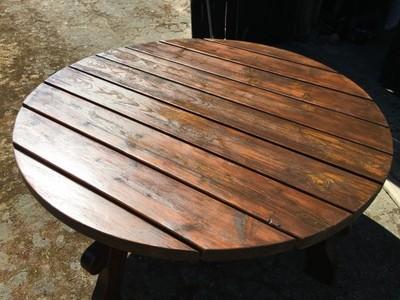 stół ogrodowy okragły w Oficjalnym Archiwum Allegro Strona