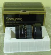 **Samyang 8 mm f/3.5 Aspherical IF MC Fish-eye**