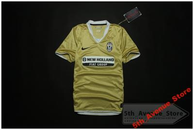 0ce74eba8 Nike Juventus Turyn Złota Koszulka Piłkarska *S* - 3272098933 ...