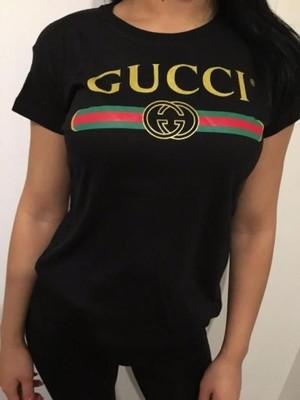 T Shirt Koszulka Bluzka Gucci S M L Xl 6876158401 Oficjalne Archiwum Allegro