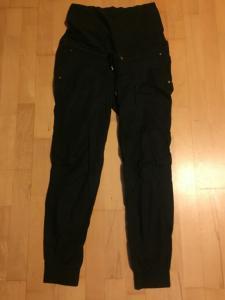 Spodnie H&M r.XS/36 czarne ciążowe jak nowe