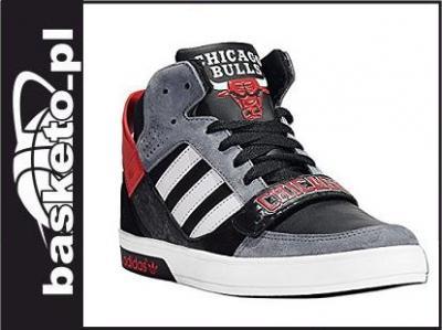 Buty adidas hard court [d66078] chicago bulls Zdjęcie na imgED
