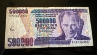 TURCJA 500 000 LIRA
