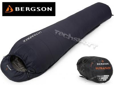 ULTRALEKKI ŚPIWÓR BERGSON ULTRAPACK tylko 0,8kg!