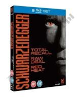 Schwarzenegger [3 Blu-ray] Total Recall, Red Heat