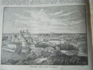 Witebsk x 2 Jurkowski flisi Wisła Piechowski 1873r