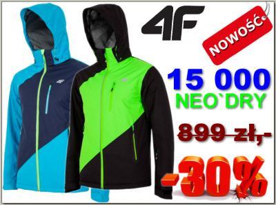kurtki narciarskie 4f 15000
