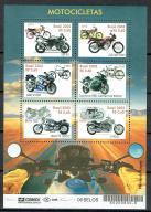 1410 ** czyste Brazylia 3270/75 motocykle motory