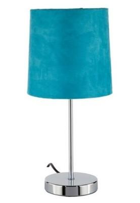 Niesamowite LAMPA NOCNA DOTYKOWA JAK ZAMSZ TURKUS 38CM BCM - 6927061070 GX09