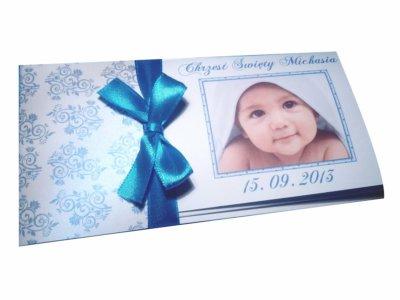 Zaproszenia Chrzest Roczek Urodziny Zdjęcie Foto 5602789156
