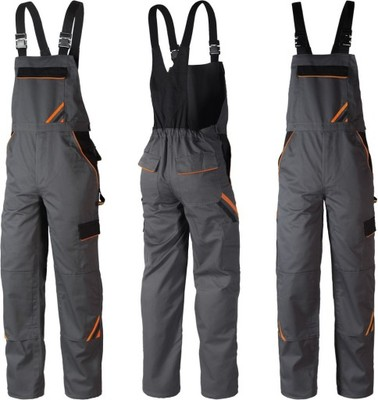 a07a0c73d1f0cd MOCNE spodnie robocze monterskie ogrodniczki 52 - 5942799229 ...