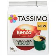 Tassimo Kenco Decaf Coffee, 104 g (Pack of 5, Tota