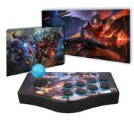 KONTROLER DO GIER ARCADE STICK USB PS2 PS3 RETRO