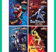 karteczki Power Rangers A5 DUŻE __ WZORY