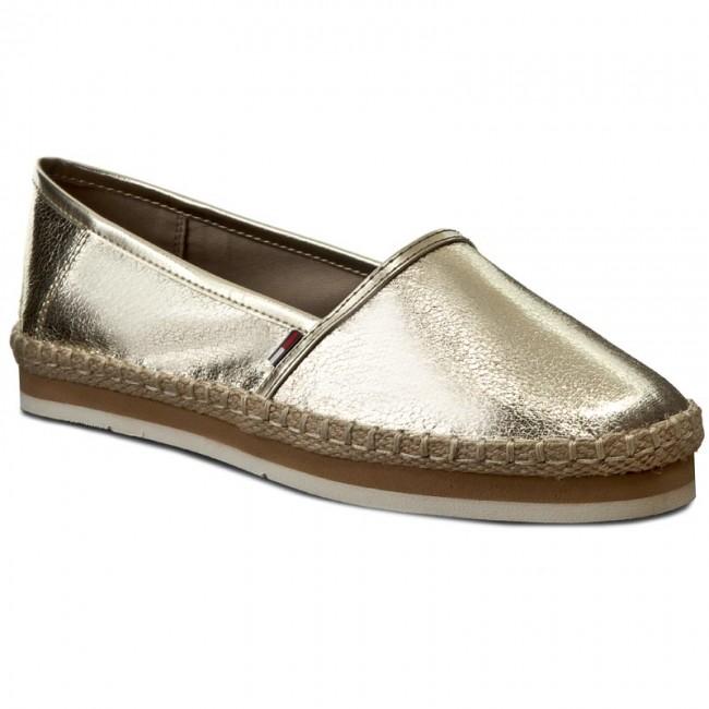 eaf566790e9bb Tommy Hilfiger buty espadryle złote rozm.41 - 6997410411 - oficjalne ...