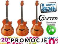 Gitara Elektryczna CRAFTER SAT-QMOS Sunburst