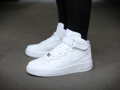 new product a323f c6e42 Buty Damskie NIKE AIR FORCE 1 MID (GS) r. 39-40 - 5731243525 ...
