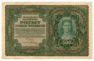 500 marek polskich 1919 I ser. BJ
