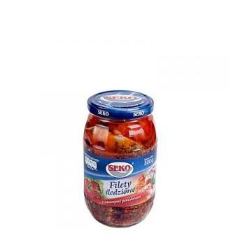 Filet Śledziowy Z Suszonymi Pomidorami Seko 650g