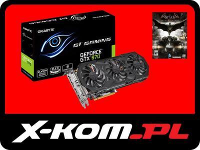 Karta graficzna GIGABYTE GeForce GTX970 Gaming G1