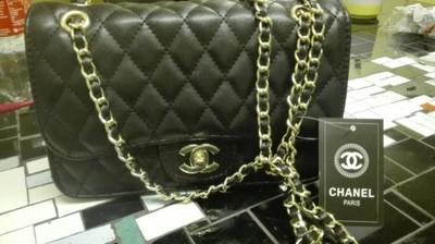 e8b2178a7e6fd torebka Chanel boy czarna - 6746322218 - oficjalne archiwum allegro