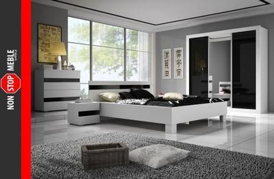 Sypialnia Tiziano łóżko Komoda Szafa Stolik 4978635214