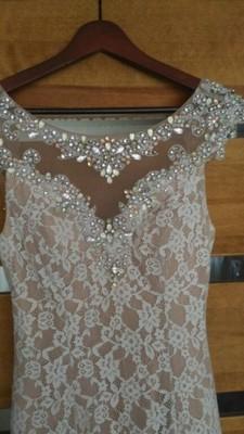 6379fafcc7 ekskluzywna suknia wieczorowa koronka kamienie - 6925683615 ...