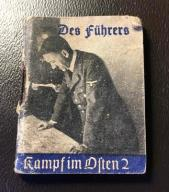 WHW - ciekawe i rzadkie książeczka Hitler