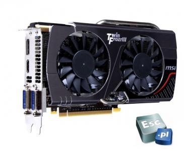 MSI GeForce GTX 650 Ti Boost TwinFroz OC 2GB