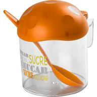 POMARAŃCZOWY Pojemnik na cukier plastikowy.HEGA