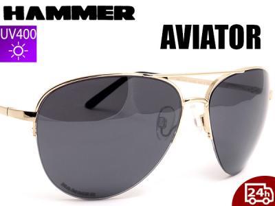 okulary przeciwsłoneczne awiator męskie