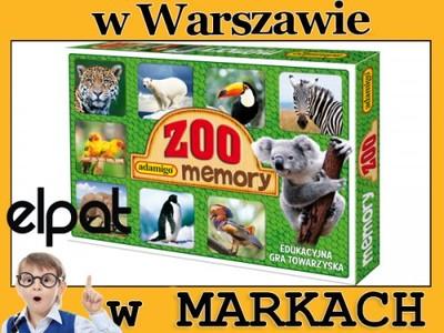 ee7e19a3fc06ff Gra Memory - Zoo Adamigo - 6322076948 - oficjalne archiwum allegro