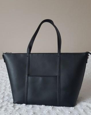 Czarna torebka PARFOIS SHOPPER BAG