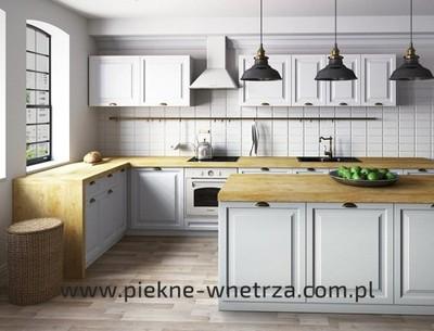 Kuchnia Zestaw Mebli Classen Gaja Biała Promocja