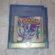 Nowa kartridż - Gra Pokemon Crystal Version