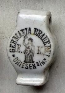 Porcelanka - DRIESEN Germania Brauerei