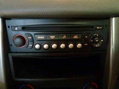 ORYGINALNE FABRYCZNE RADIO PEUGEOT 207 307 - 6656448627 - oficjalne