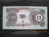 95. Banknot   Biafra 1 funt  UNC