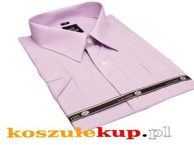 5051 Wielka koszula męska wrzosowa Laviino duża  XRJc2