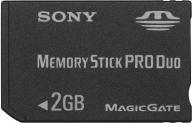MEMORY STICK PRO- DUO SONY 2 gb