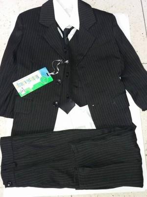 8f7523acd3c41 Komplet chłopięcy garnitur+koszula+krawat 98-104cm - 6796559447 ...