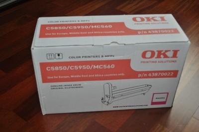 NOWY ORYGINALNY BĘBEN OKI C5850 43870022 FVAT 23%