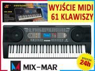 PROFESJONALNE Organy Keyboard 61kl MK-902 LCD MIDI