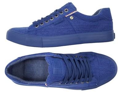 BIG STAR trampki męskie niebieskie buty W174542