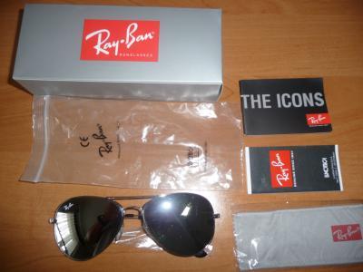 okulary Ray ban 3026 6214 uszkodzone lustrzanki - 5578500500 ... 21397352fb