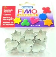 %% FIMO zestaw FOREMKI 6 szt. do masa plastyczna