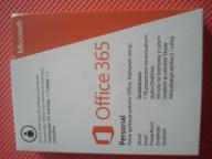 Microsoft Office 365 Personal 1 PC + 1 Tablet 1Rok