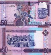 # GAMBIA - 50 DALASIS - 2015 - P-NEW - UNC