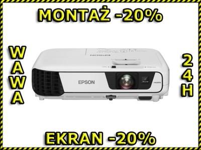 9811ed685a5 Projektor Epson EB-S31 + UCHWYT WAWA - 6647430246 - oficjalne ...