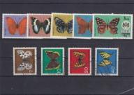 1962 Niemcy -Motyle kas. - Bhutan - motyle**